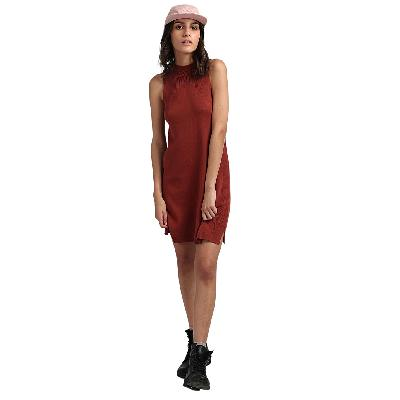 RVCA Chev - Robe pour Femme - Rouge