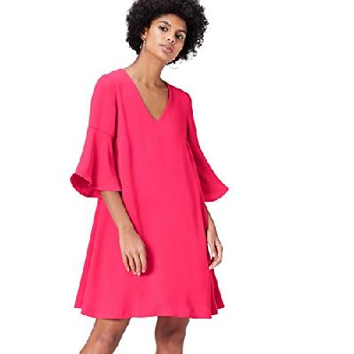 find. FL01149.1.1 robes, Rose (Fuschia), 40 (Taille Fabricant: Medium)