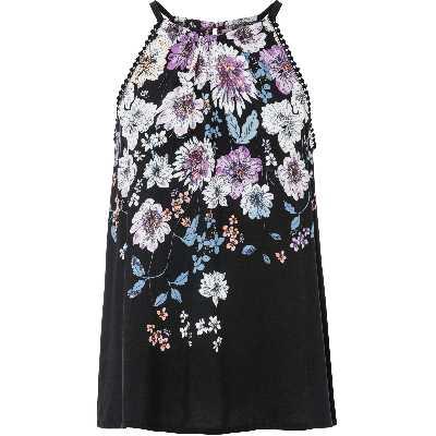 Top-blouse imprimé