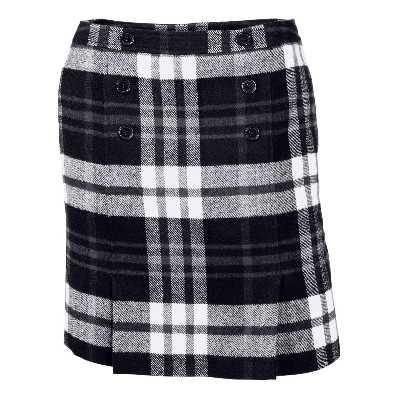 Mini jupe à carreaux