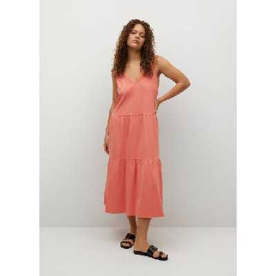Robe maille coton