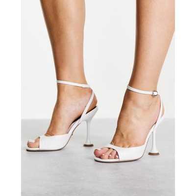 Topshop - Chaussures à talon fin - Blanc