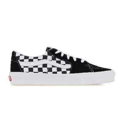 Sk8-low Checkerboard  Blanc/noir