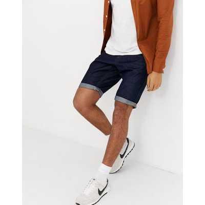 Tom Tailor - Short en jean à 5 poches - Jean bleu