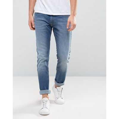 Lee - Luke - Jean slim fuselé - Bleu jean