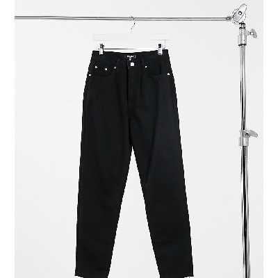 Missguided Petite - Riot - Jean mom taille haute en jean recyclé - Noir