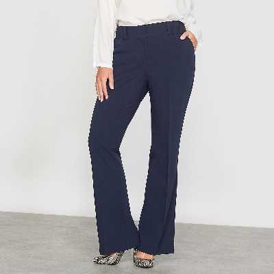 Pantalon bootcut taille haute