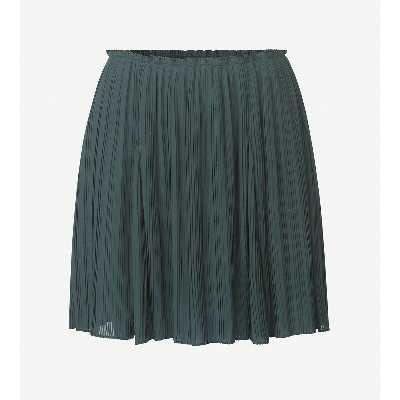Jupe plissée, courte