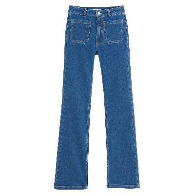 Jean bootcut taille haute