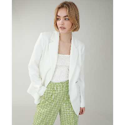 Veste longue Femme - Couleur blanc - Taille XS - PIMKIE - MODE FEMME