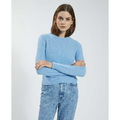 Pull doux Femme - Couleur bleu - Taille S - PIMKIE - MODE FEMME