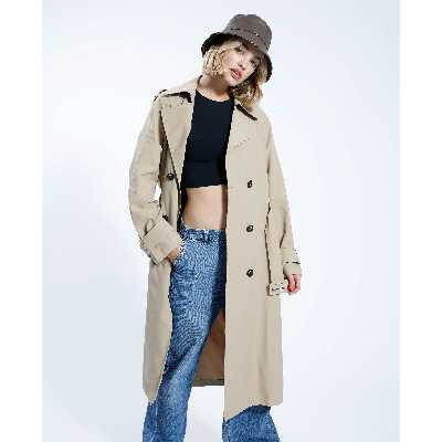 Trench long Femme - Couleur blanc - Taille XL - PIMKIE - MODE FEMME