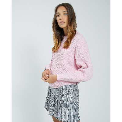 Pull maille Femme - Couleur rose - Taille L - PIMKIE - MODE FEMME