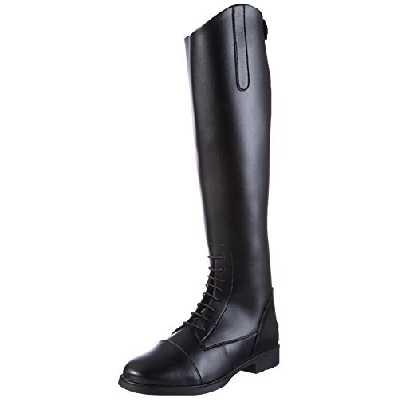 HKM New Fashion 5711 Bottes d'équitation pour femme Longueur 36-42 Noir Taille 39