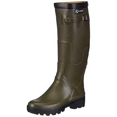 Aigle Benyl Mollet Large, Chaussures de Chasse homme, Vert (Benyl Mollet Large), 41 EU
