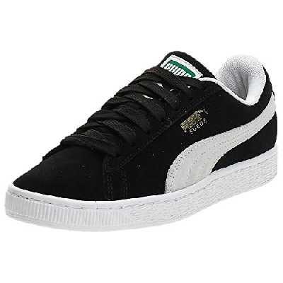Puma - Suede Classic+ - Baskets mode - Mixte Adulte - Noir (black-white) - 43 EU