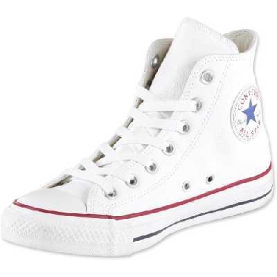 Converse Chuck Taylor All Star Hi Blanc (Optical White) Cuir 36 EU