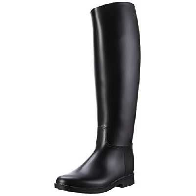 PFIFF 101658 PVC bottes d'équitation Glasgow, noires 39