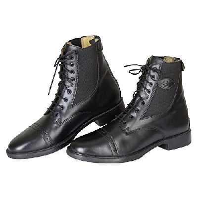 Covalliero 324568 Monaco Demi Bottes d'équitation noir Noir - noir - Noir Taille - 38