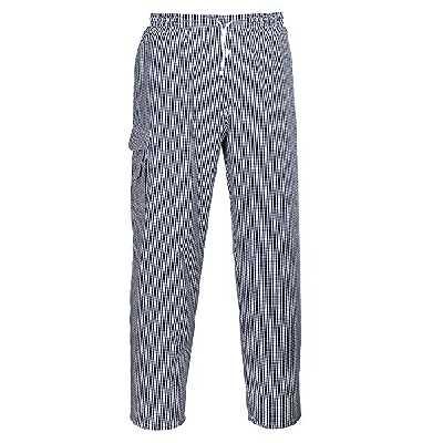 Pantalon de cuisine Portwest Chester 100% coton
