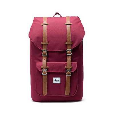 Herschel Classics   Backpacks Sac à Dos Loisir, 25 L , Windsor Wine/Tan PU
