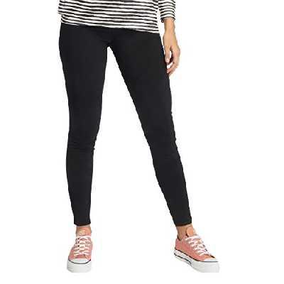 PIECES PCSKIN WEAR JEGGINGS BLACK/NOOS, Jeans Femme, Noir (Black), 36 (Taille fabricant: Small)