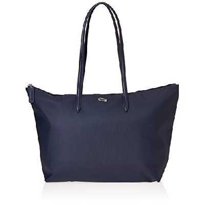Lacoste Nf1888, Sac Bandouliere Femme, Bleu (Eclipse), Taille unique