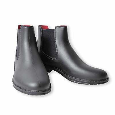 Kerbl Axona Bottes d'équitation en PVC, Noir, Taille 40