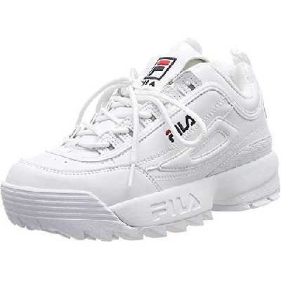 FILA Disruptor WMN, Baskets Femme, White 1Fg, 39 EU