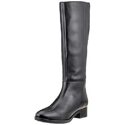 Geox Femme D Felicity D Knee High Boot, Noir Black C9999, 39 EU