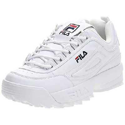 FILA Disruptor men Sneaker Homme, blanc (White), 42 EU