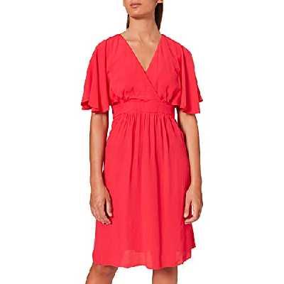 Naf Naf KENR48D, Robe Femme, Rose (Framboise 391), (Taille Fabricant:36)