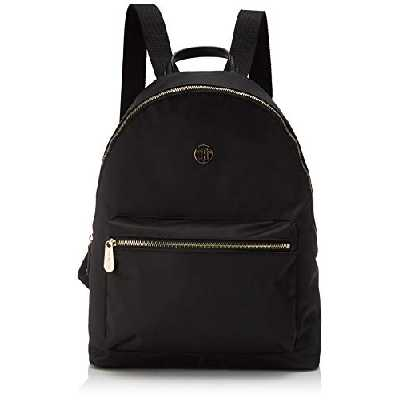 Tommy Hilfiger Poppy Backpack, Sacs à dos femme, Noir (Black), 1x1x1 cm (W x H L)