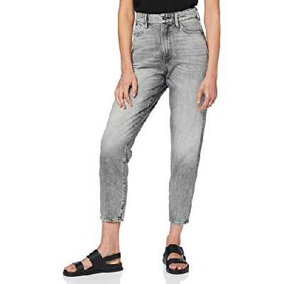 G-STAR RAW Janeh Ultra High Waist'' Jeans, Gris (Sun Faded Basalt C049-B380), 24W / 32L Femme