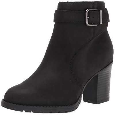 Clarks Verona Lark, Bottine Femme, Black Leather, 43 EU