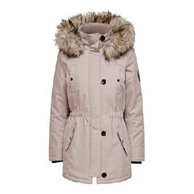 ONLY ONLIRIS Fur Winter Parka CC OTW Jacket, Vieux Rose, S Femme