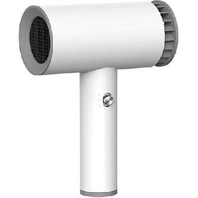Sèche-cheveux USB rechargeable sans fil portable Coup froid et chaud ventilateur approprié portable sans fil USB rechargeable sans fil Sèche-cheveux intelligent 2 Mode cheveux Drier ventilateur