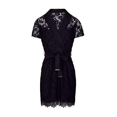 Morgan Robe Dentelle RCLAIRE Casual Dress, Marine, T36 Womens