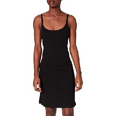 Petit Bateau A013V02 Dress, Noir, Medium Womens