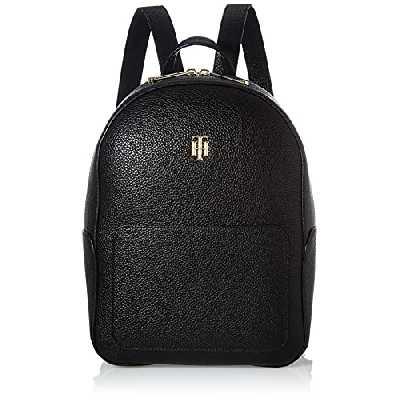 Tommy Hilfiger Th Essence Backpack, Sac Dos Femme, Noir, Medium