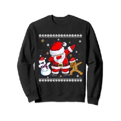 Christmas Dab - Dabbing Bonhomme de Neige du Père Noël Sweatshirt