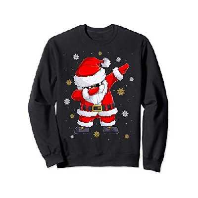Pull de Noel Homme Dab Pere Noel Hip-Hop Cool Sweatshirt