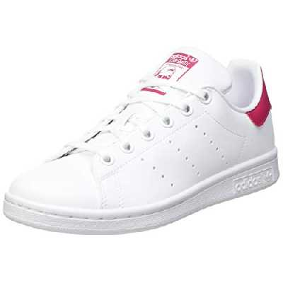 adidas Stan Smith, Sneaker, Cloud White/Cloud White/Bold Pink, 38 EU