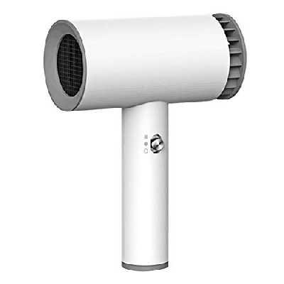Huante SèChe-Cheveux Sans Fil USB Polyvalent Portable Rechargeable Outils de Coiffure MéNage Salon Coiffure SèChe-Cheveux éLectrique