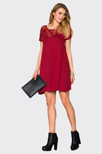 robe rouge bonprix