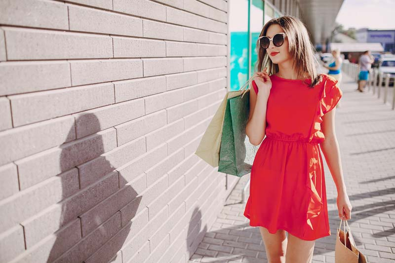 f3008d82944 Robe rouge tendance 2019