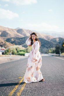 robe longue grande taille
