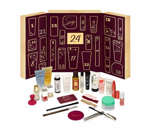 calendrier avent marionnaud maquillage