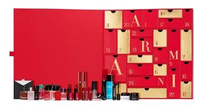 calendrier parfum armani