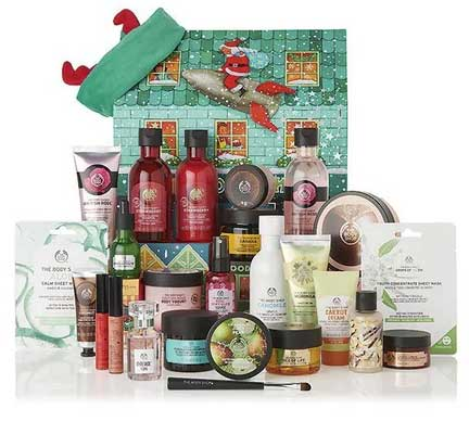 calendrier thebodyshop ultime